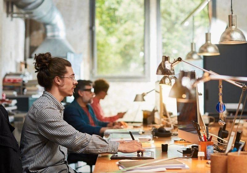 Professional Designers Using Computer